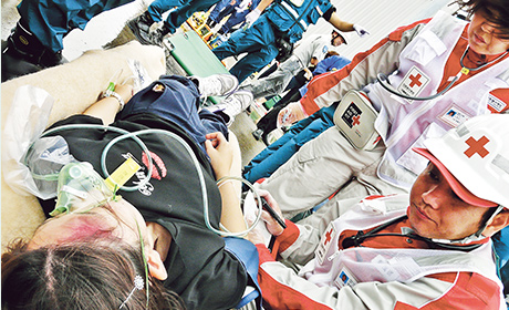 主な災害救護活動