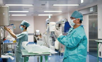 外科手術の準備